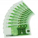 Großhandel Tischwäsche: 100 Euro Servietten - 10 Stück