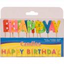 Kerzen Happy Birthday zum Happy Birthday