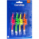 Großhandel Sonstige: Kerzen Spiralen - 4 Stück