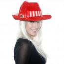 grossiste Casquette: Chapeau de Noël - rouge avec le printemps