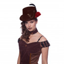 Großhandel Kopfbedeckung:Hat Steampunk Brown