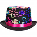 wholesale Headgear:Hat Black with Neon