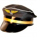 Großhandel Sonstige:Pilotenmütze schwarz