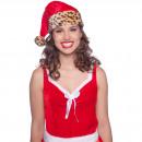 Christmas Hat Leopard