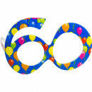 wholesale Licensed Products: Party Age Glasses Blue 60