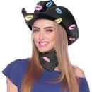 wholesale Bedlinen & Mattresses:Cowboyhat Lips Black