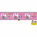 wholesale Fan Merchandise & Souvenirs: 4 Years Anniversary Pink Banner- 2.6 meters