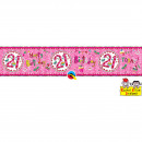 wholesale Fan Merchandise & Souvenirs: 21 Years Anniversary Banner - 2.6 meters