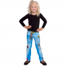 grossiste Vetements enfant et bebe: Hippie Flower Power Legging Filles