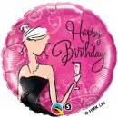 Großhandel Kleider: 18V Happy Birthday Schwarzes Kleid