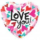 mayorista Regalos y papeleria: 18in / 45cm te amo corazones