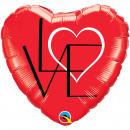 mayorista Regalos y papeleria: 18in / 45cm L (corazón) VE