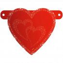 Banner Letter Romantic Valentine Heart