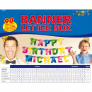 wholesale Gifts & Stationery: Banner letter box - 90 characters