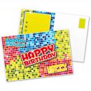 wholesale Greeting cards: Invitations Birthday Blocks Postcards 6 stu