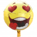wholesale Licensed Products: Amorous Emoticon Balloon 43cm