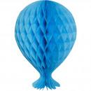 Honeycomb Balloon 37cm Baby Blue