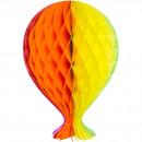 Großhandel Tücher & Schals: Wabenballon 37cm Multicolor