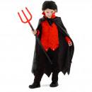 Großhandel Verkleidung & Kostüme: Teufel Pack Spinnennetz mit Cape Jungen Größe