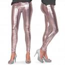 groothandel Speelgoed: Legging Metallic Zilver L-XL