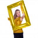 Großhandel Computer & Telekommunikation: S / Form selfie Rahmen gold 85x60 cm