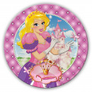 wholesale Gifts & Stationery:Princess plate 6 pieces