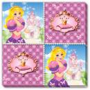 Großhandel Tischwäsche: Prinzessin Servietten - 16 Stück