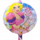 Großhandel Geschenkartikel & Papeterie: Pink Princess Folienballon - 46cm