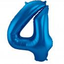 Großhandel Geschenkartikel & Papeterie:86 cm Nummer 4 Blau