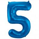 grossiste Vetement et accessoires: 34po / 86cm Numéro 5 Bleu
