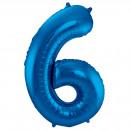 grossiste Vetement et accessoires: 34po / 86cm Numéro 6 Bleu