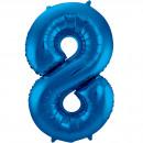 grossiste Vetement et accessoires: 34po / 86cm Numéro 8 Bleu