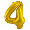 Großhandel Geschenkartikel & Papeterie: Gold Folienballon Abbildung 4-86 cm