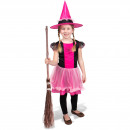 wholesale Childrens & Baby Clothing: Witch Dress with Pink Hat - Child Size S