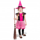 wholesale Childrens & Baby Clothing: Witch Dress with Pink Hat - Child Size M