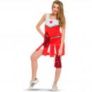 Sexig Cheerleader Suit Ladies - storlek L - XL