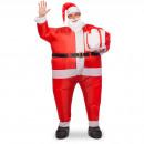 Großhandel Dekoration: Aufblasbare Santa Clause Kostüm