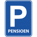 Großhandel Dekoration: Retirement -Park-Platten-Tür Platte