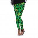Großhandel Hosen:Legging Weed