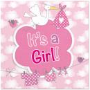 Geburt Servietten Mädchen Es ist ein Mädchen - 20