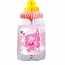 Honeycomb Baby Bottle It's a Girl