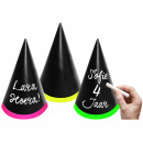 Writable Party Hats - 6 pieces