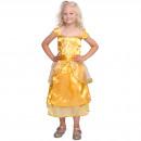 Großhandel Kleider: Princess Kleid Gold Größe S