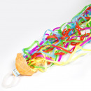 wholesale Scarves & Shawls: Magic Streamer 5 Mtr Multicolor