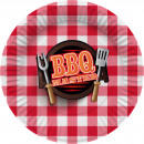 wholesale Barbecue & Accessories: Plates XL 28 cm BBQ Master