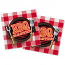 wholesale Barbecue & Accessories: Napkins XL 40x40cm BBQ Master