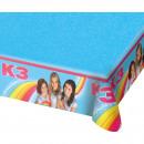 groothandel Tafellinnen: K3 Party Tafelkleed - 180 x 130cm
