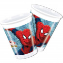 wholesale Party Items: Spider-Man Warriors Cups 8 pieces