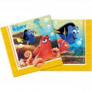 grossiste Articles sous Licence: Disney Trouver Dory - 20 pièces Napkins