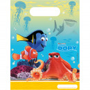 wholesale Gift Wrapping: Disney Finding Dory Loot Bags - 6 pieces
